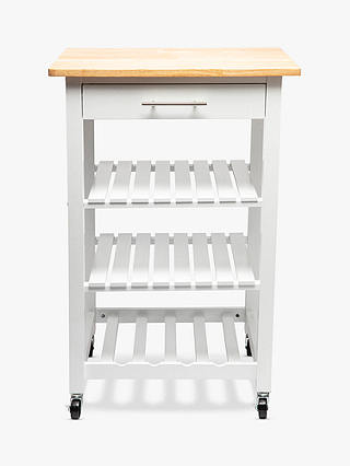 Buy Hahn 5five Claude Butcher's Trolley, White Online at johnlewis.com
