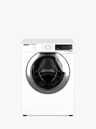 Hoover DWOA412AH Dynamic Next Freestanding Washing Machine, 12kg Load, A+++ Energy Rating, 1400rpm Spin, White