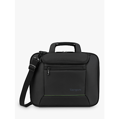 Image of Targus Balance EcoSmart Briefcase for Laptops up to 14, Black