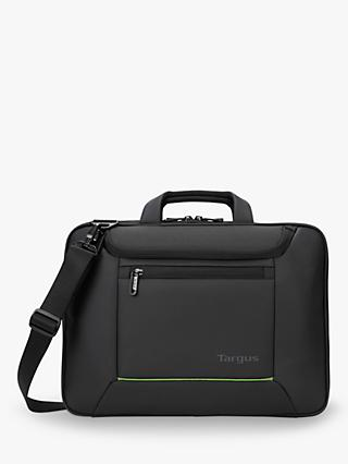 "Targus Balance EcoSmart Briefcase for Laptops up to 15.6"", Black"
