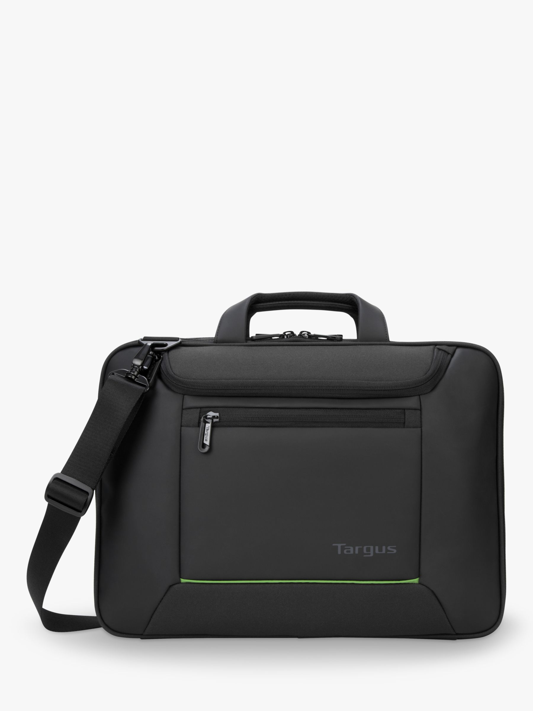 Targus Targus Balance EcoSmart Briefcase for Laptops up to 15.6, Black