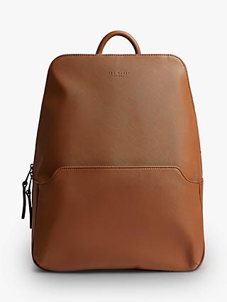 Ted Baker Adamz Crossgrain Backpack, Tan