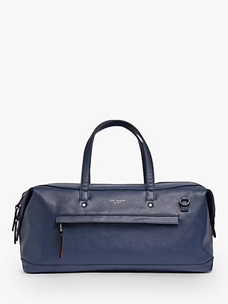 Ted Baker Patche Crossgrain Finish Holdall