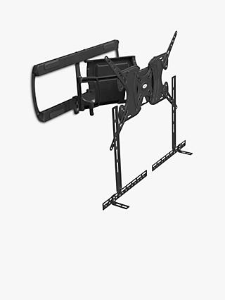 "AVF CNL655-E Multi Position Wall Mount For TVs from 30"" to 90"" with Removable Sound Bar Mount"