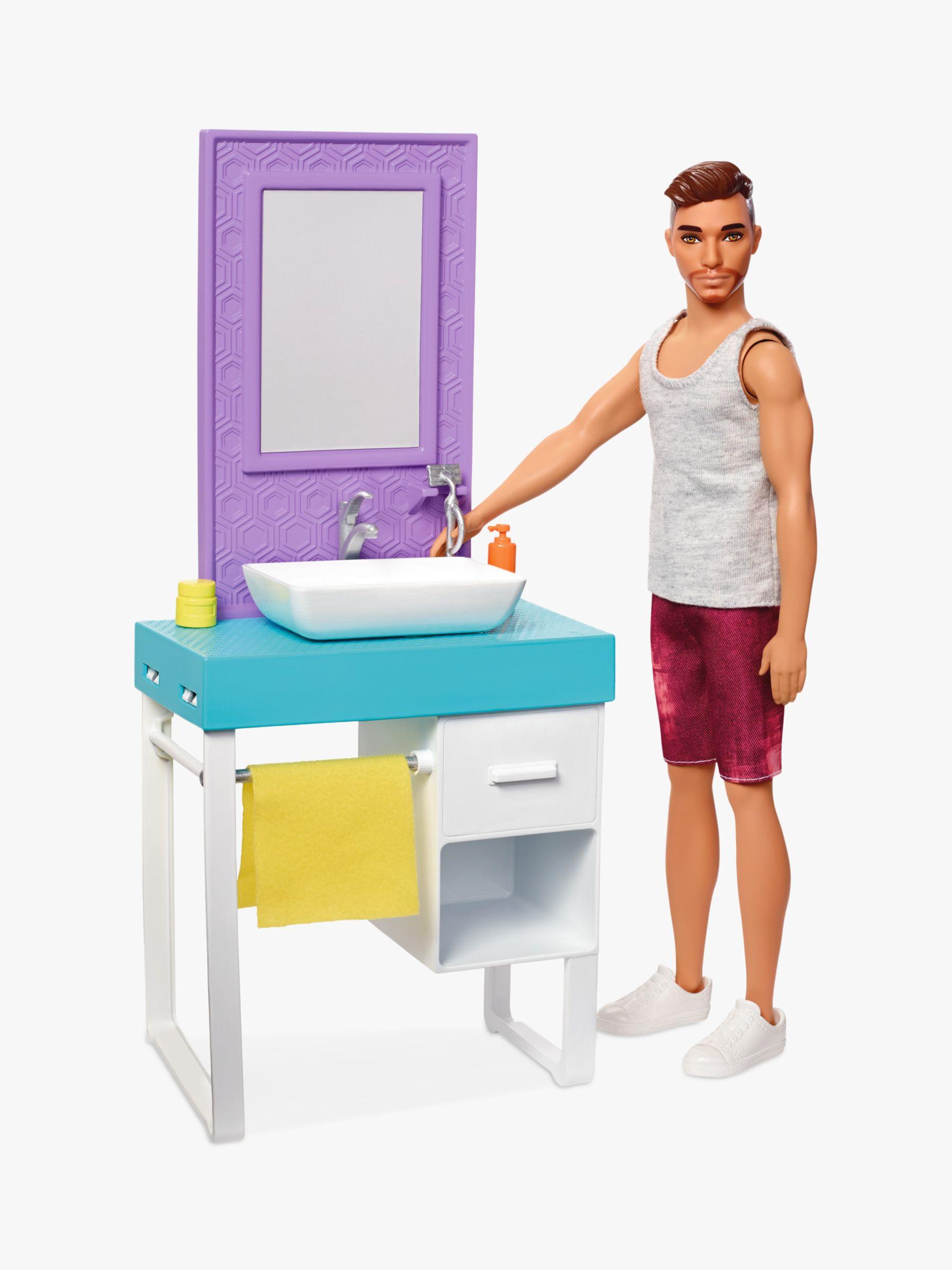 Barbie Barbie Shaving Ken Set