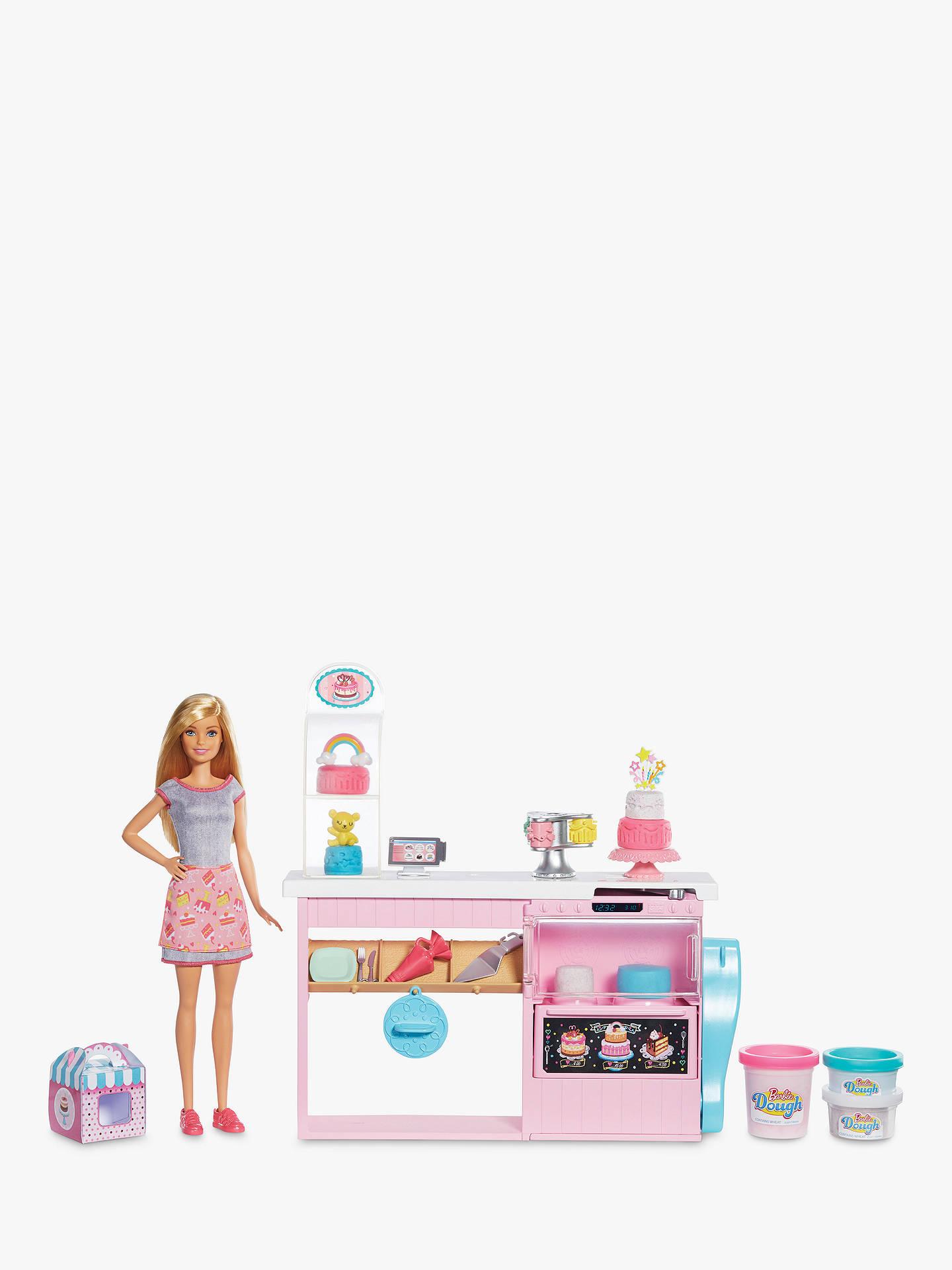 Barbie Cake Bakery Play Set At John Lewis Amp Partners