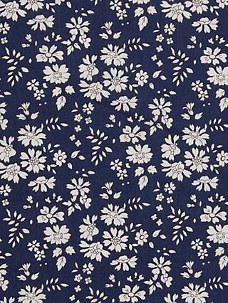 Liberty London Capel Floral Print Fabric, Navy