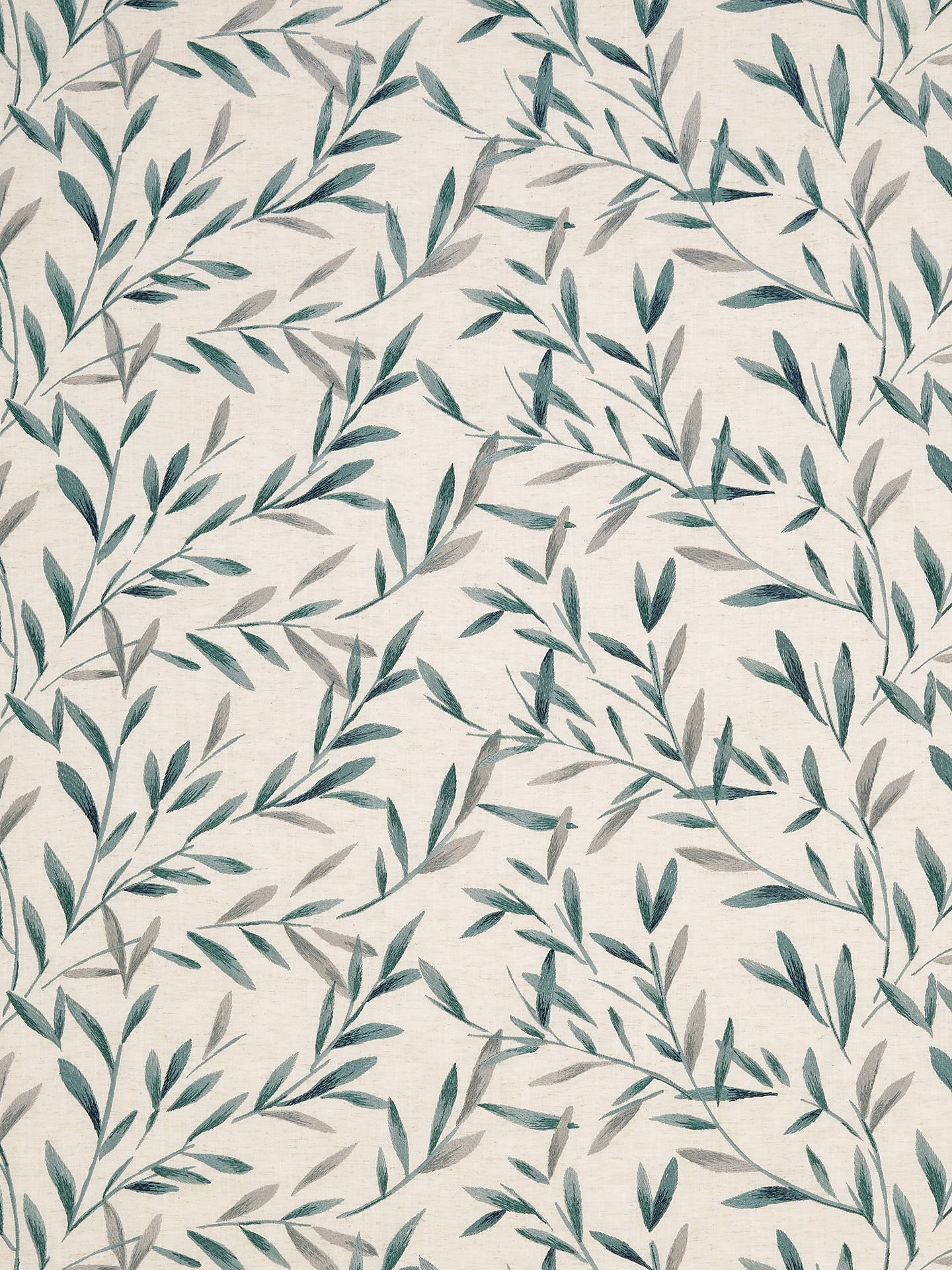 Buy John Lewis & Partners Langley Furnishing Fabric, Evergreen Online at johnlewis.com