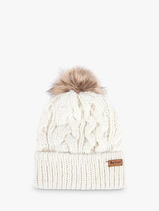 Barbour Penshaw Cable Knit Beanie