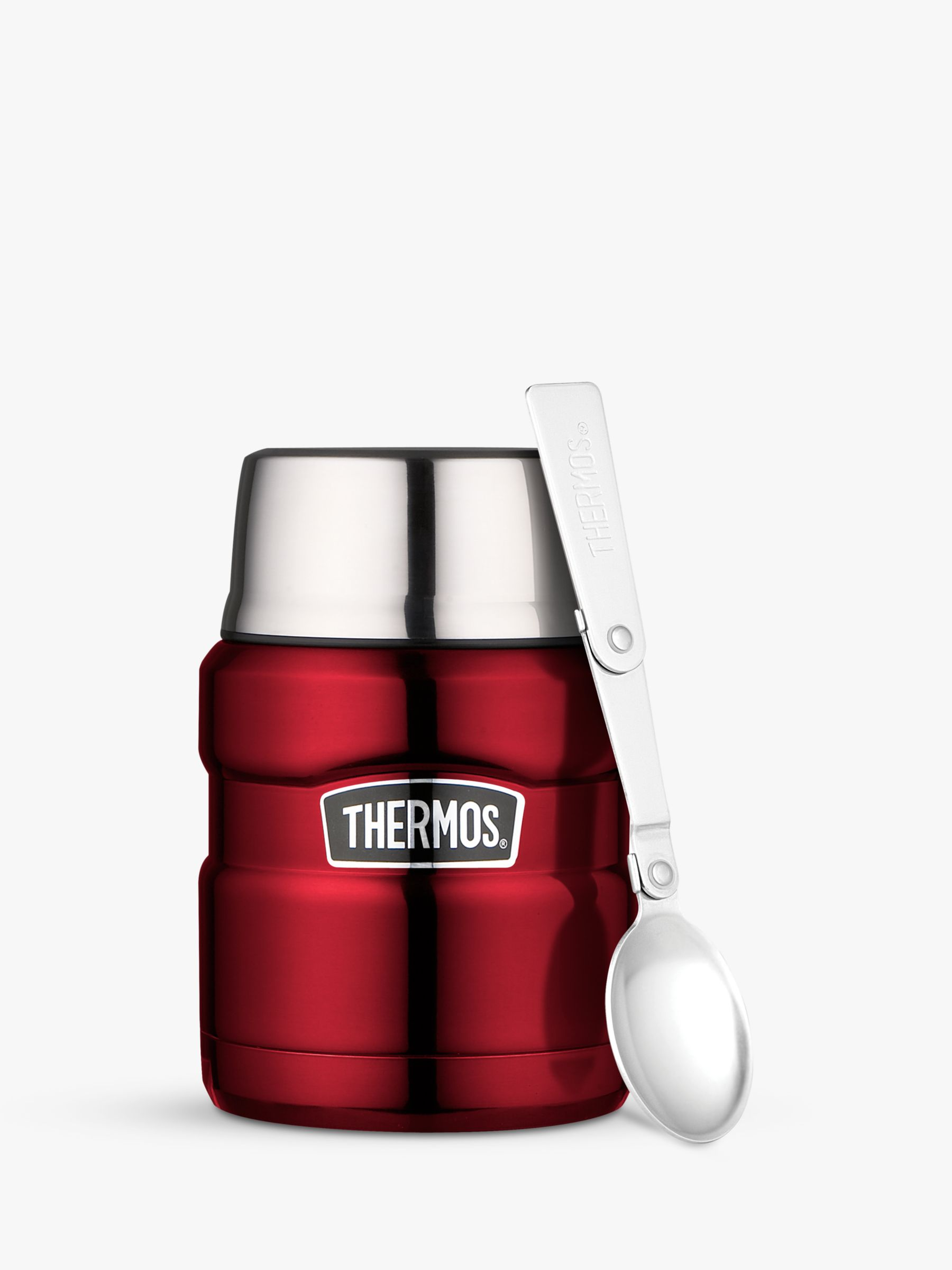 Thermos Thermos King Food Flask, Stainless Steel, 470ml