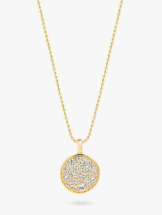 Sif Jakobs Jewellery Cubic Zirconia Round Pendant Necklace