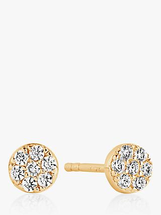 Sif Jakobs Jewellery Cubic Zirconia Small Round Stud Earrings