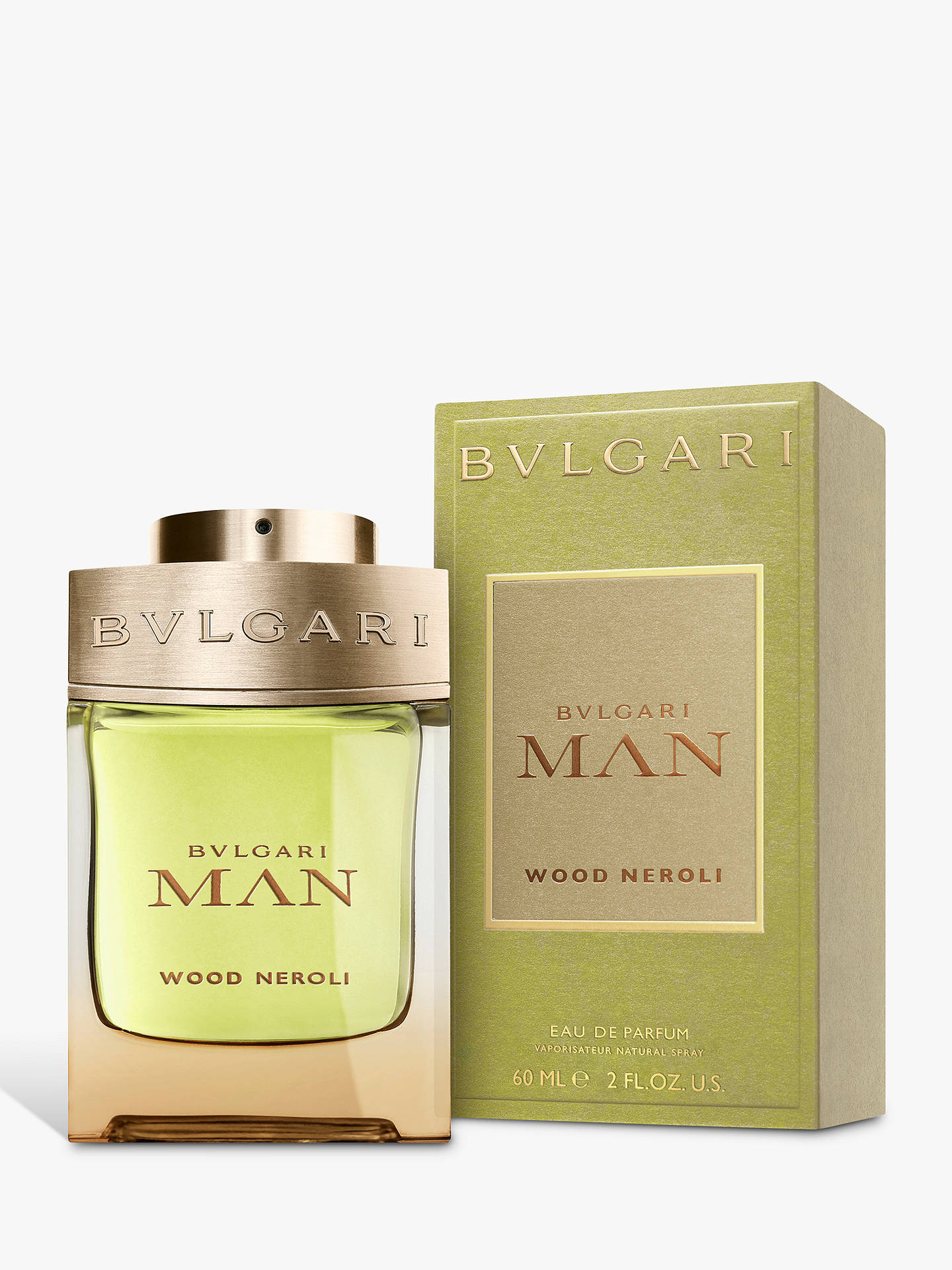 Buy BVLGARI Man Wood Neroli Eau de Parfum, 60ml Online at johnlewis.com