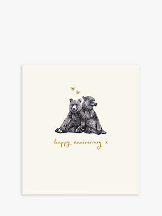 Woodmansterne Two Bears Anniversary Card