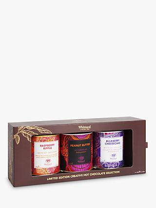Whittard Hot Chocolate Limited Edition Creative Selection, 3x 120g
