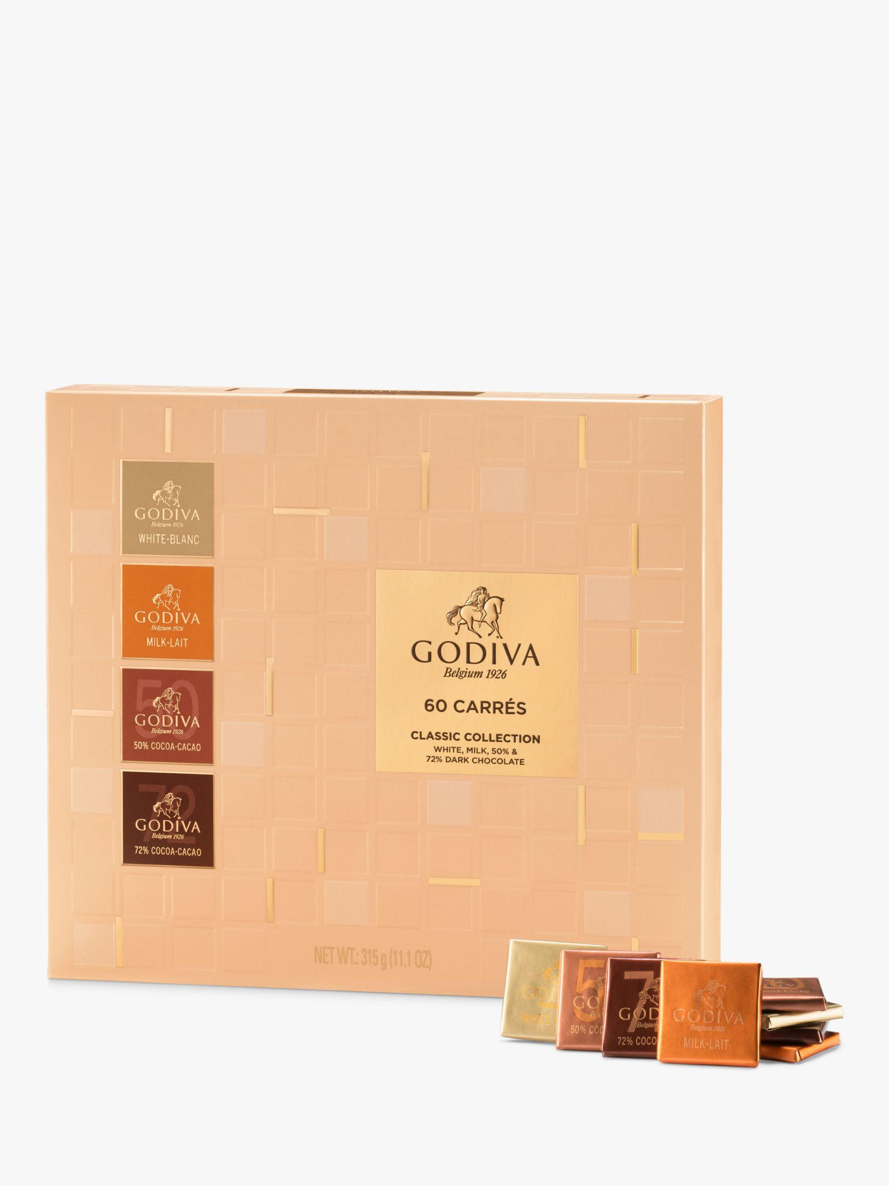Godiva Godiva Full Range Carrés, Box of 60, 315g