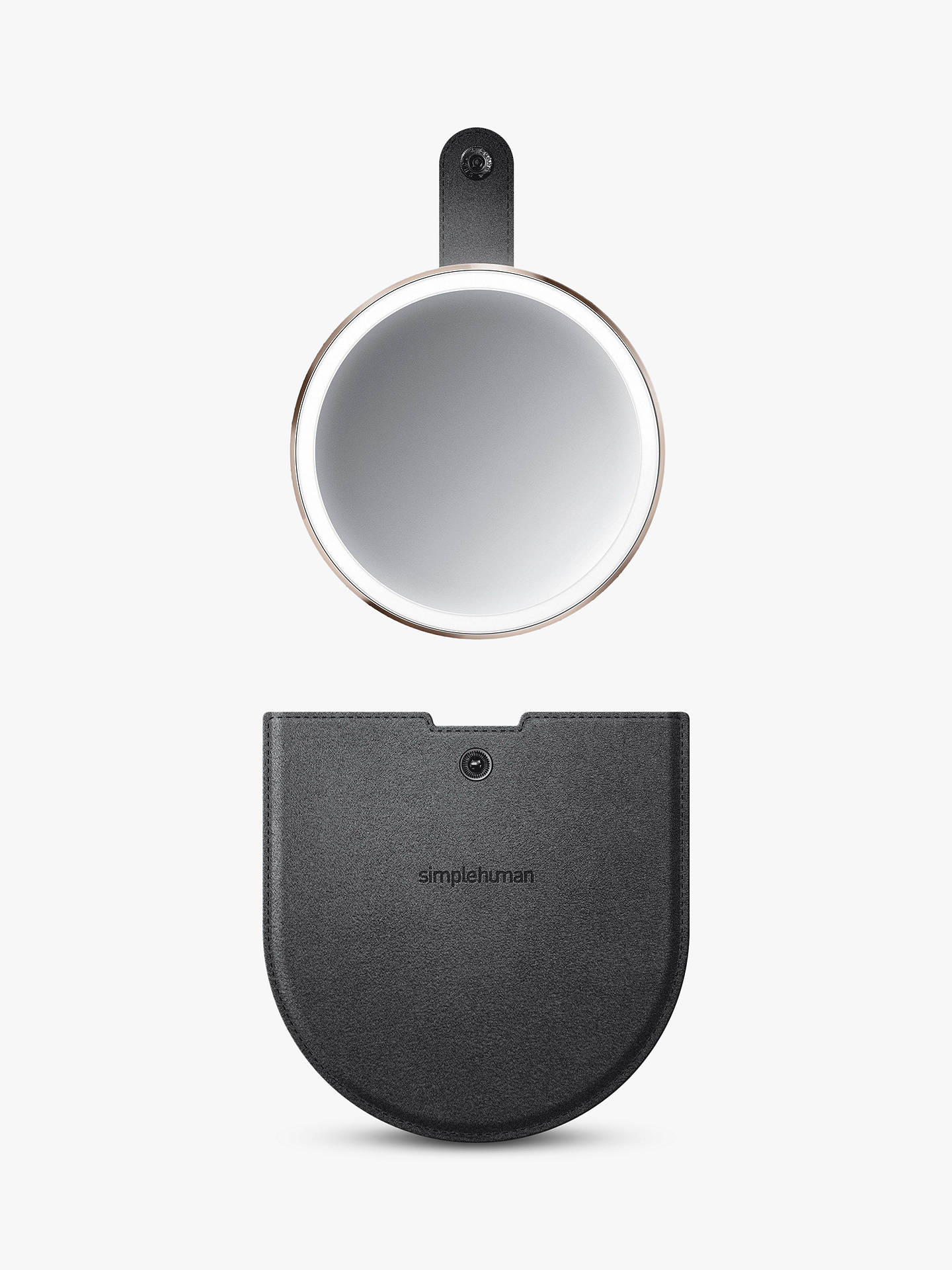 Buy simplehuman Compact Mirror, Rose Gold Online at johnlewis.com