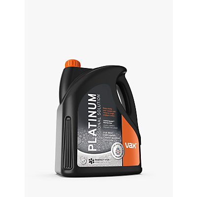 Vax Platinum Carpet Wash, 4L