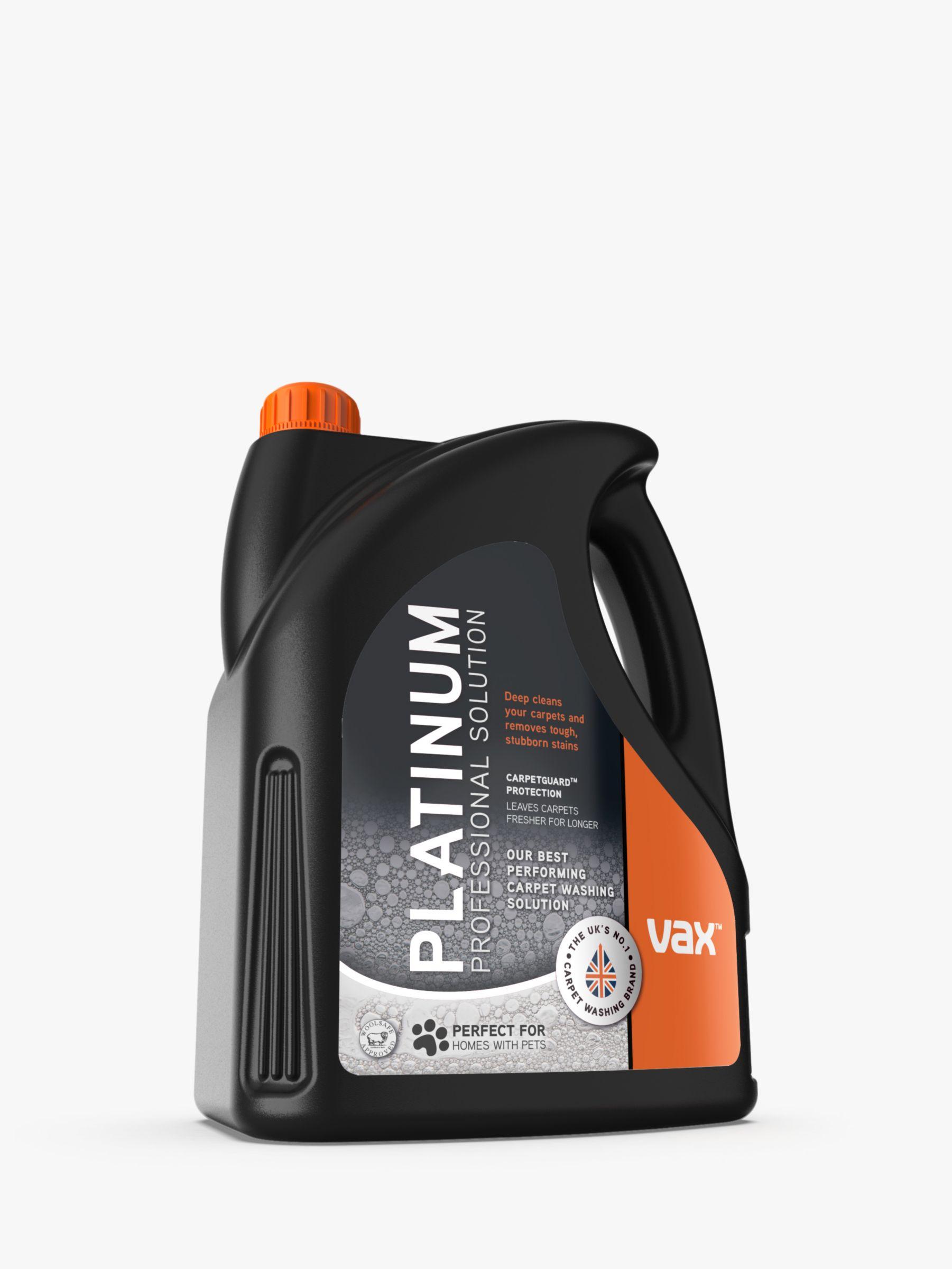 VAX Vax Platinum Carpet Wash, 4L