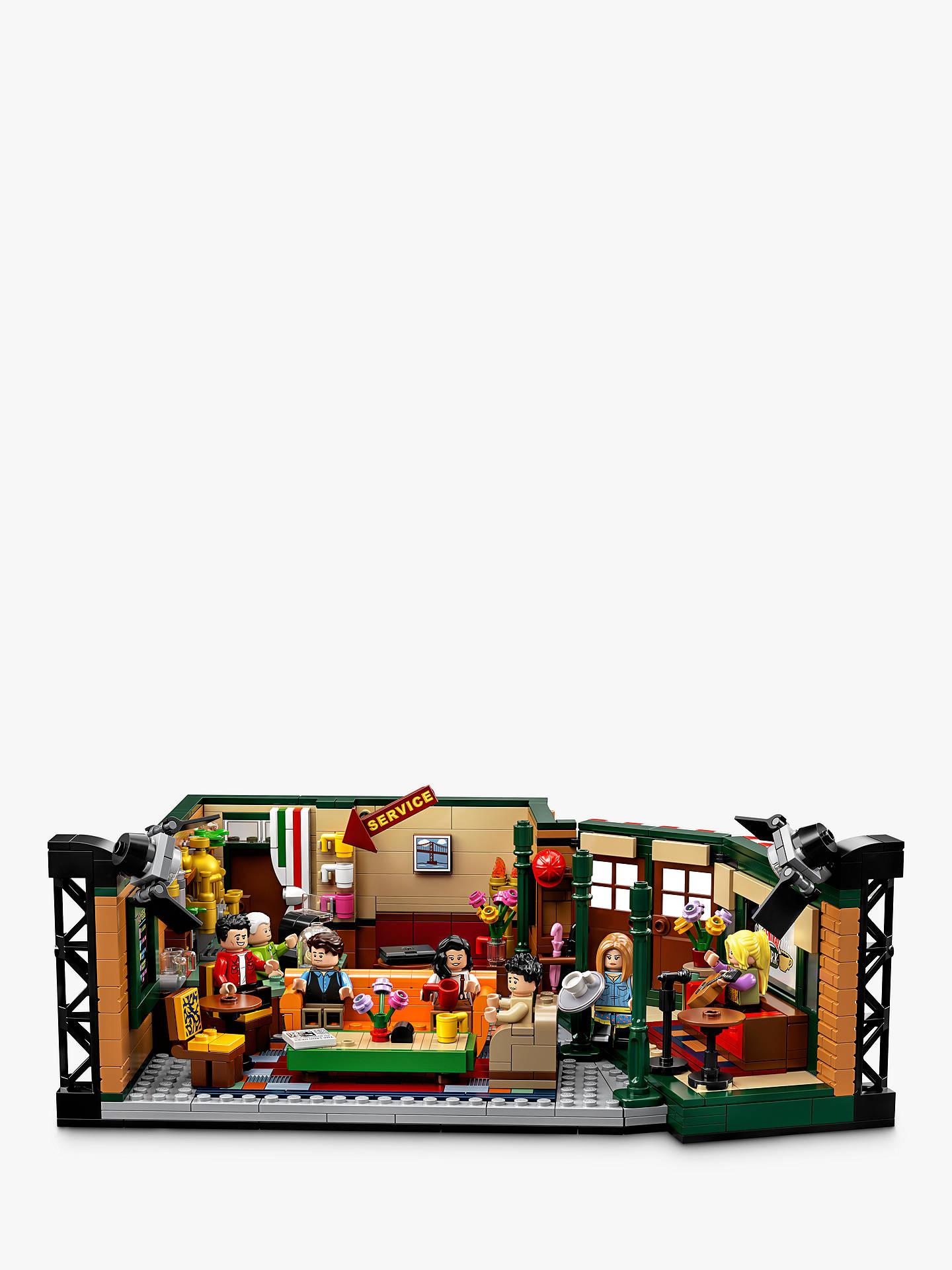 Lego Ideas 21319 Friends Central Perk At John Lewis Partners