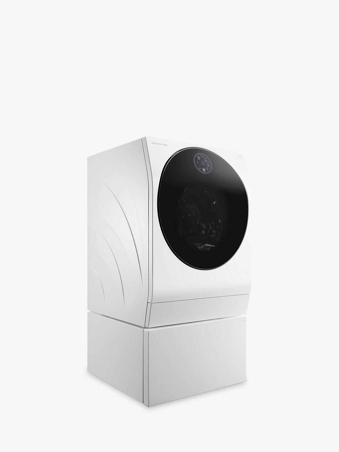 Buy LG SIGNATURE LSF/LST100 Freestanding Washing Machine, 14kg Load, 1600rpm Spin, A+++ Energy Rating, White Online at johnlewis.com
