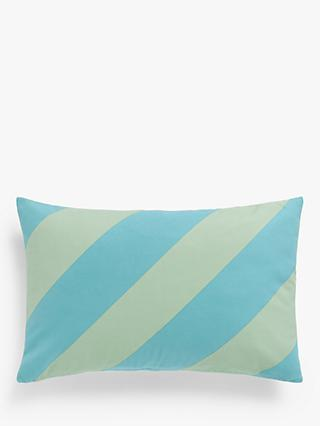 House Diagonal Stripe Rectangular Cushion