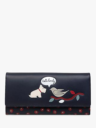 Radley Hello Lovely Leather Large Flap Over Matinee Purse