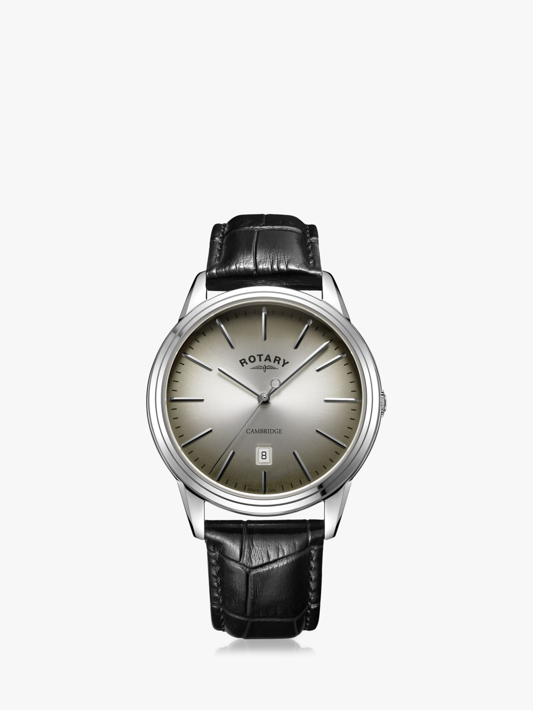 Rotary Rotary Men's Cambridge Date Leather Strap Watch