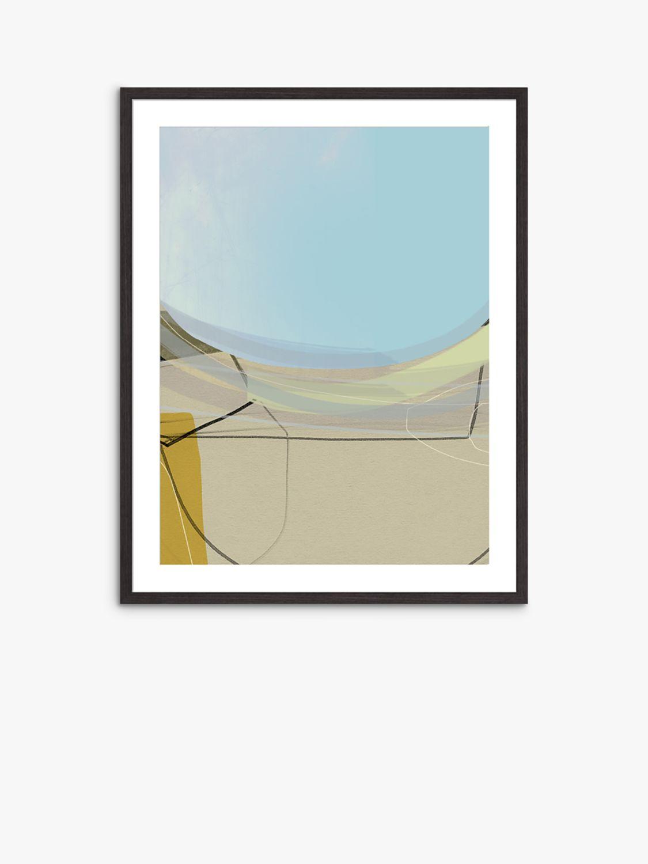 Unbranded Adrian Bradbury - Bay 20 Wood Framed Print & Mount, 82 x 62cm, Blue/Multi