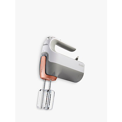 Breville HeatSoft VFM021 Food Mixer in White / Rose Gold