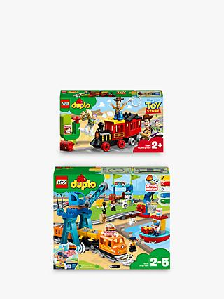 LEGO DUPLO Cargo Train and LEGO DUPLO Toy Story 4 Train bundle