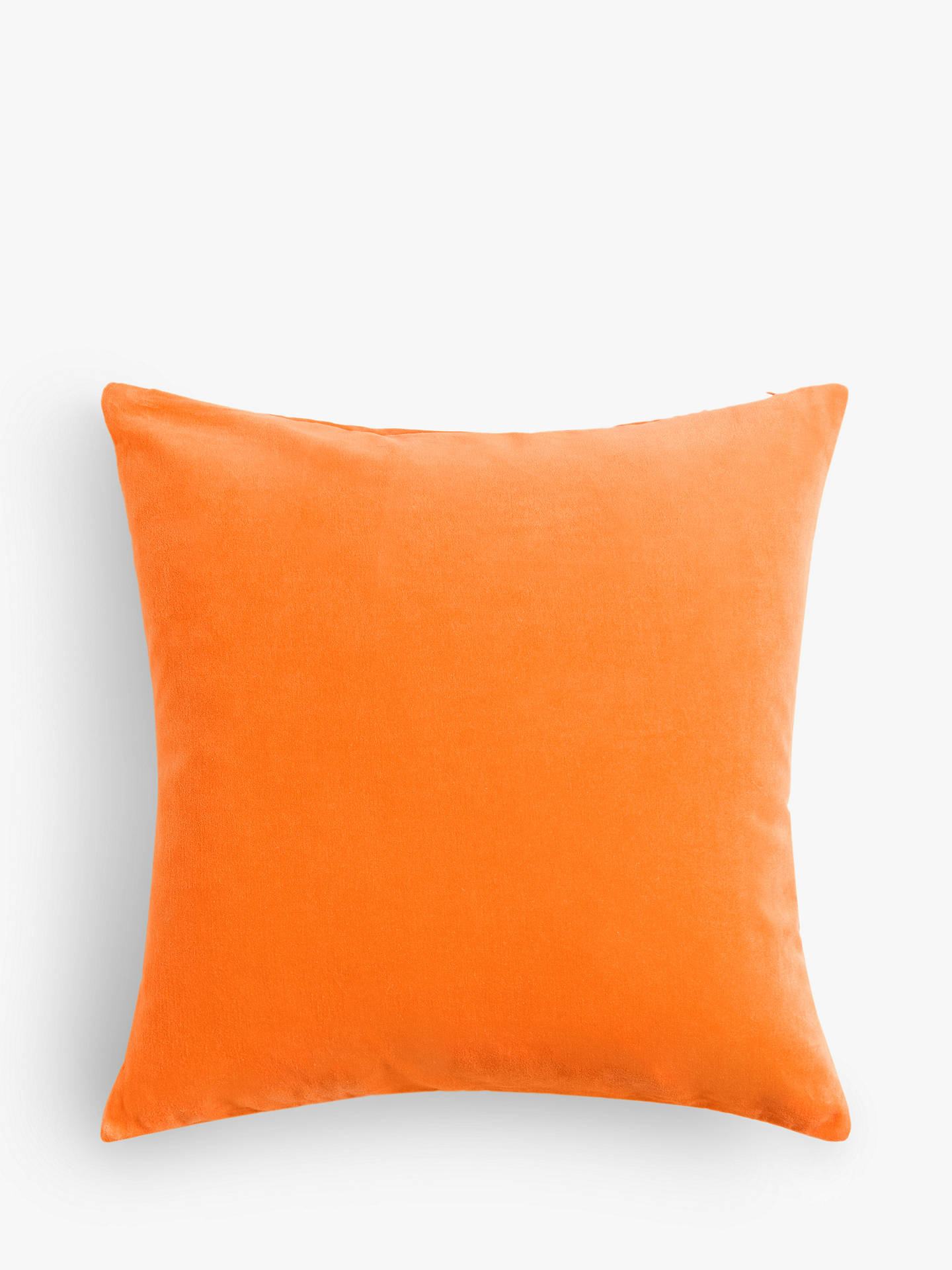 Buy John Lewis & Partners Cotton Velvet Cushion, Sunburst Online at johnlewis.com