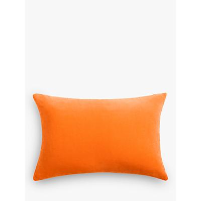 John Lewis & Partners Rectangular Cotton Velvet Cushion