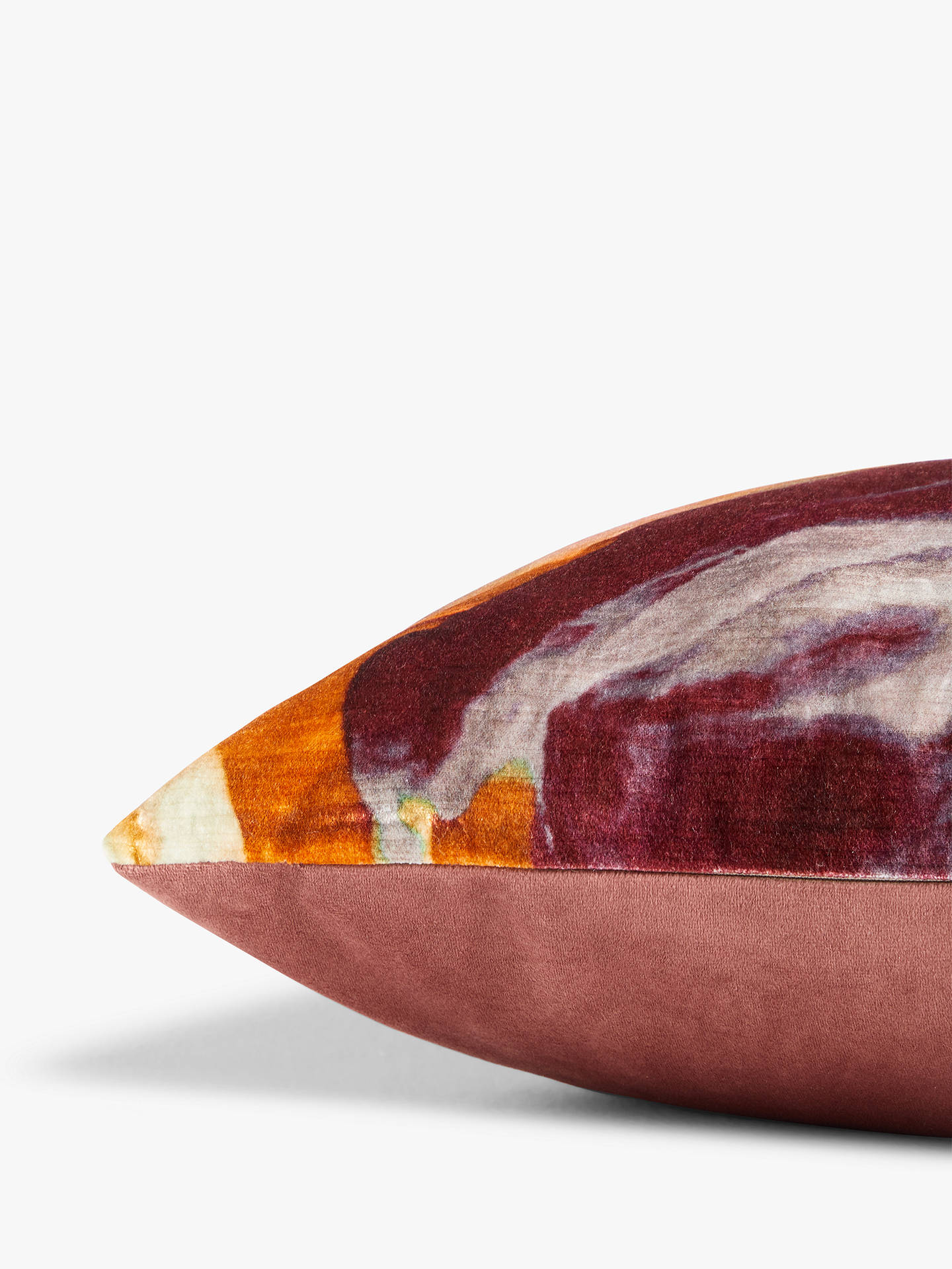 Buy John Lewis & Partners Alluvion Cushion, Marigold Online at johnlewis.com