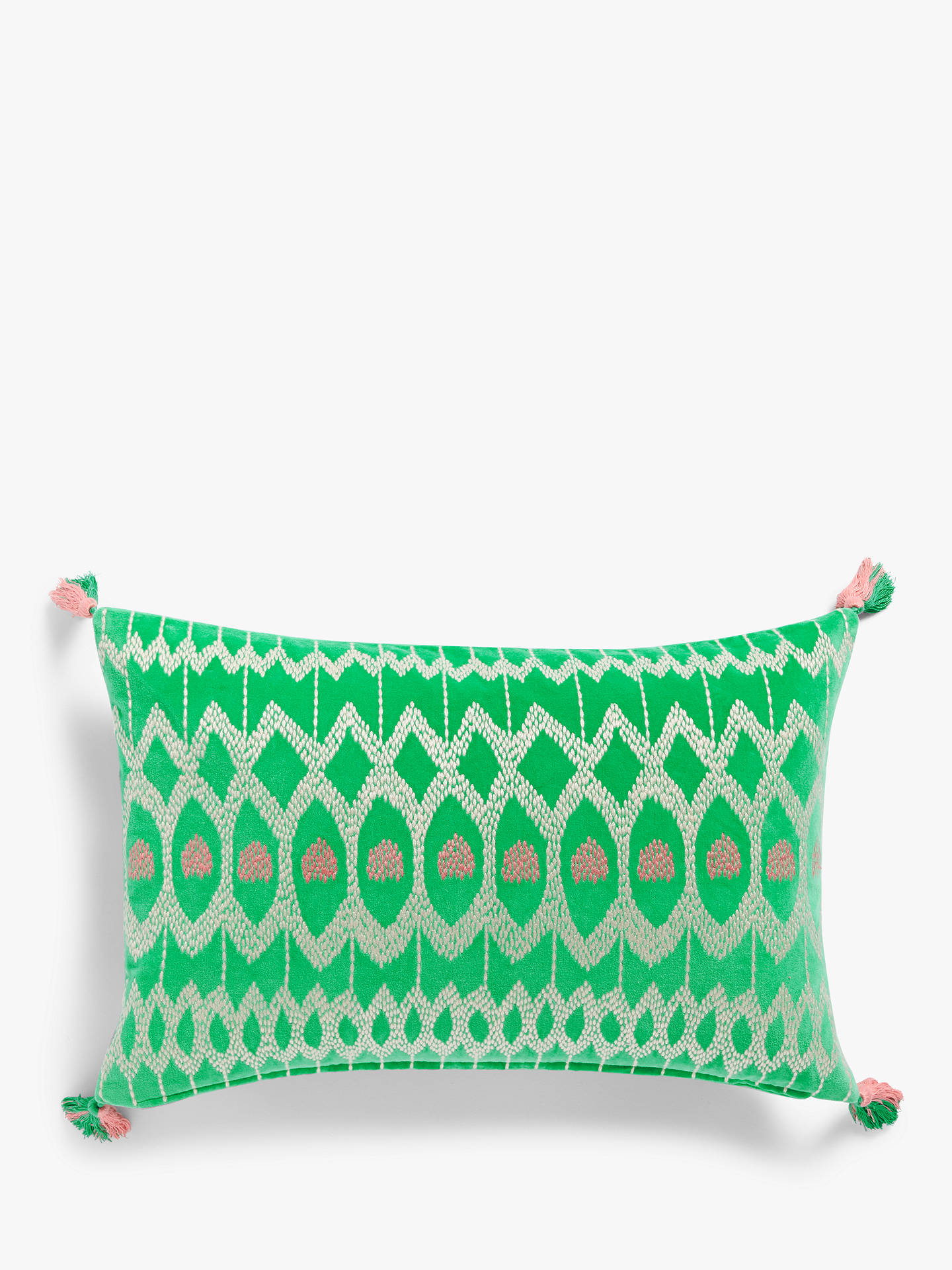 Buy John Lewis & Partners Kuva Cushion, Jadeite Online at johnlewis.com