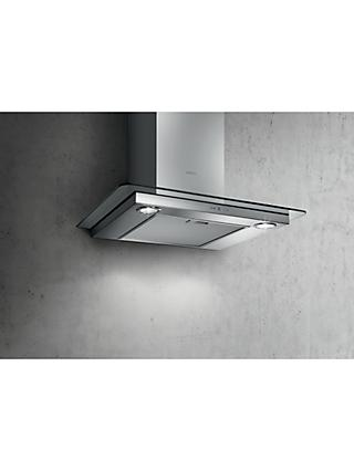 Elica Tribe 60cm Chimney Cooker Hood, Stainless Steel / Glass