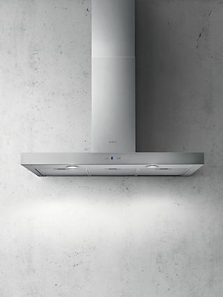 Elica Cruise 90cm Chimney Cooker Hood, Stainless Steel
