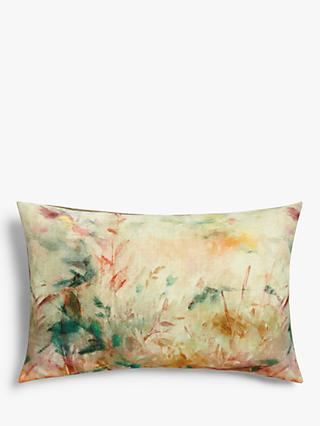John Lewis & Partners Aura Border Cushion, Multi