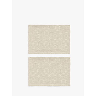John Lewis & Partners Fusion Pattern Cotton Placemats, Set of 2
