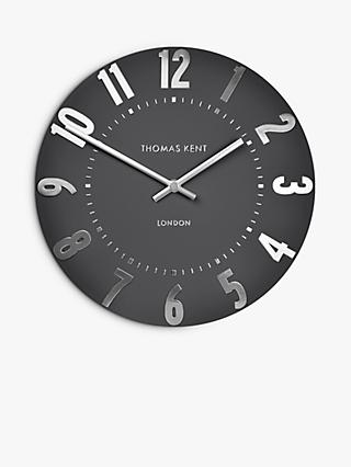 Thomas Kent Mulberry Wall Clock, 50cm