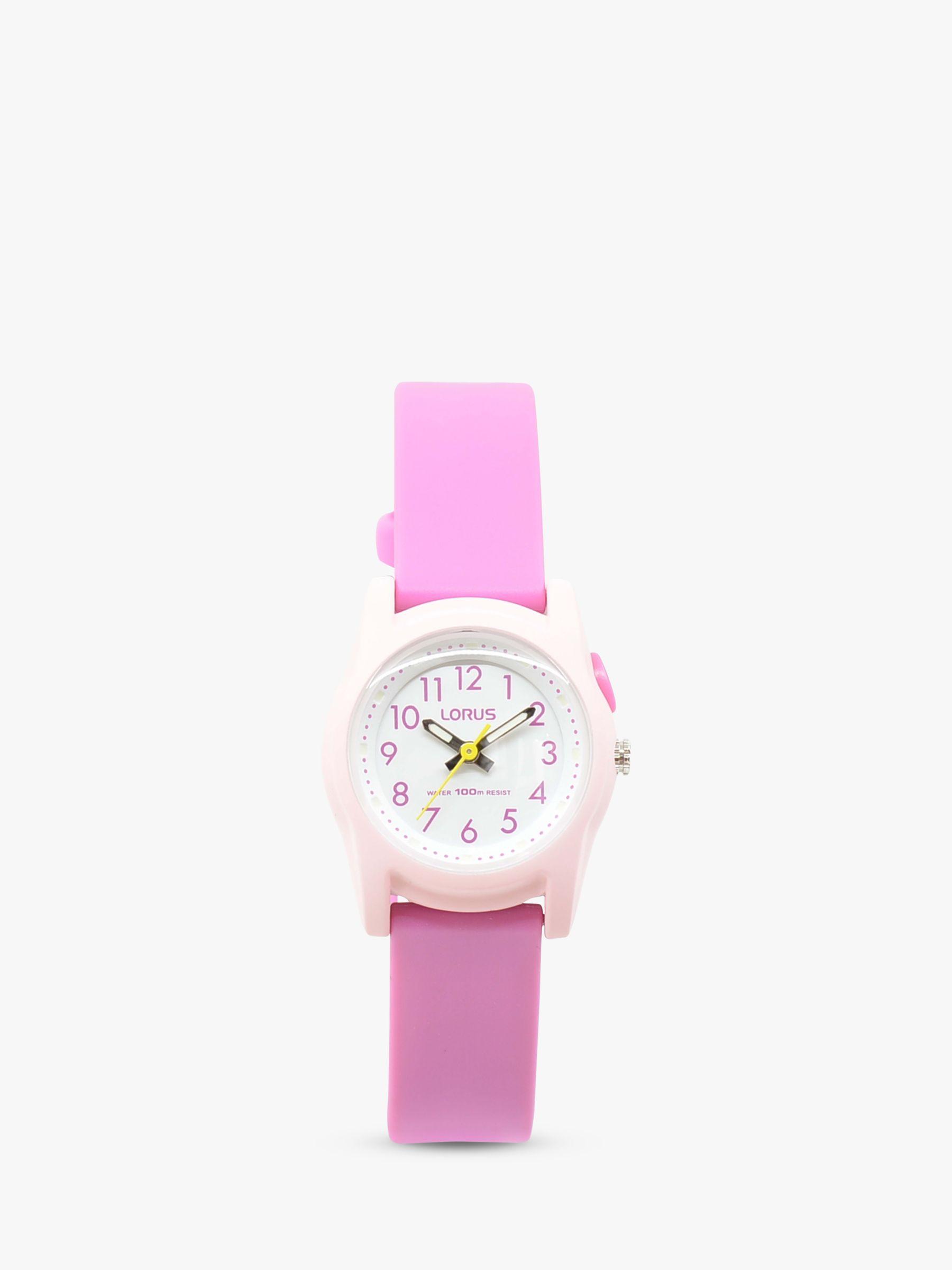 Lorus Lorus Children's Silicone Strap Watch