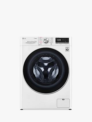 LG FWV595WS Freestanding Washer Dryer, 9kg Wash/5kg Dry Load, A Energy Rating, 1400rpm Spin, White
