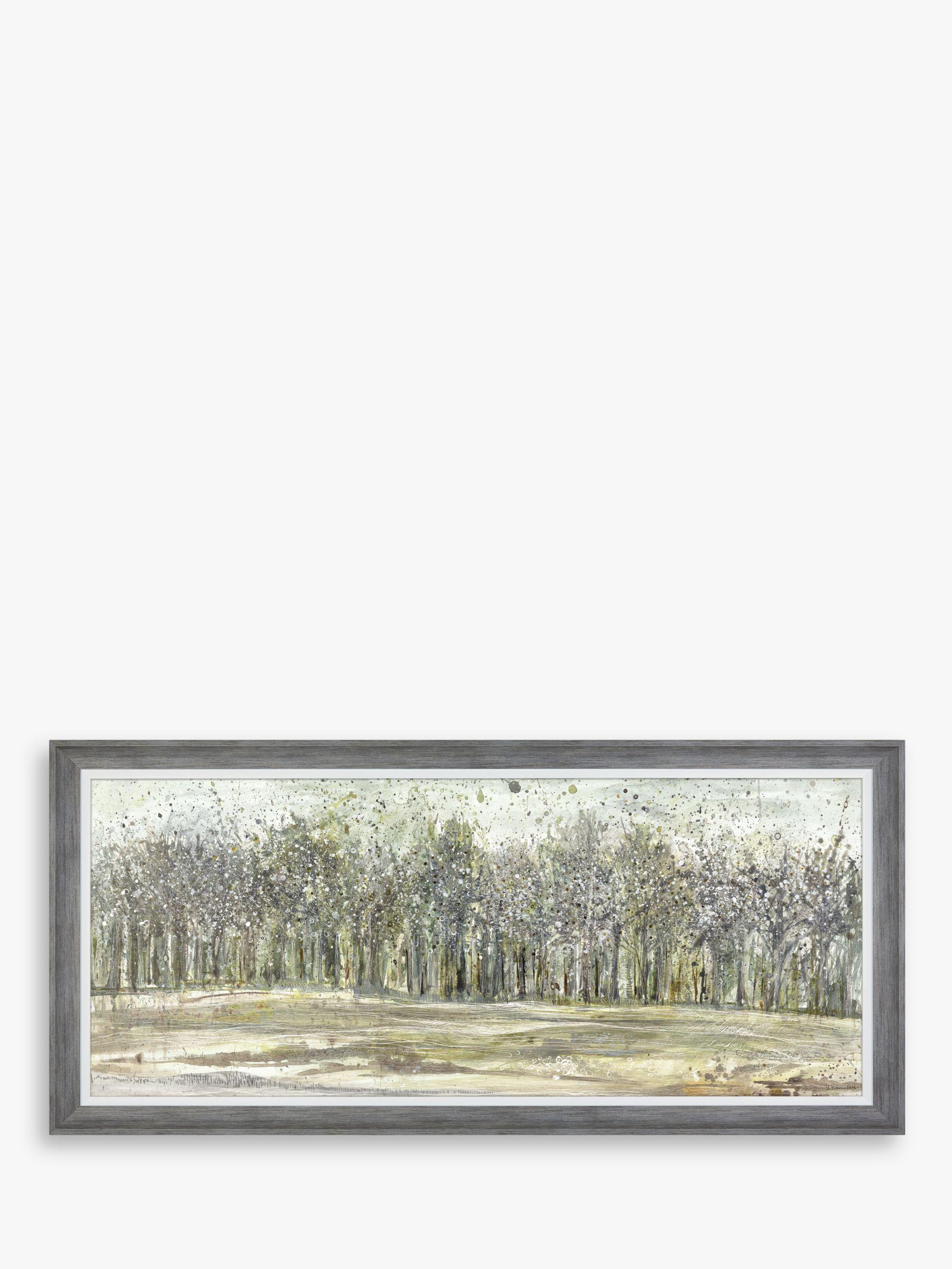 Unbranded Ulyana Hammond - Shadow Grey Framed Canvas & Mount, 60 x 130cm, Grey/Multi