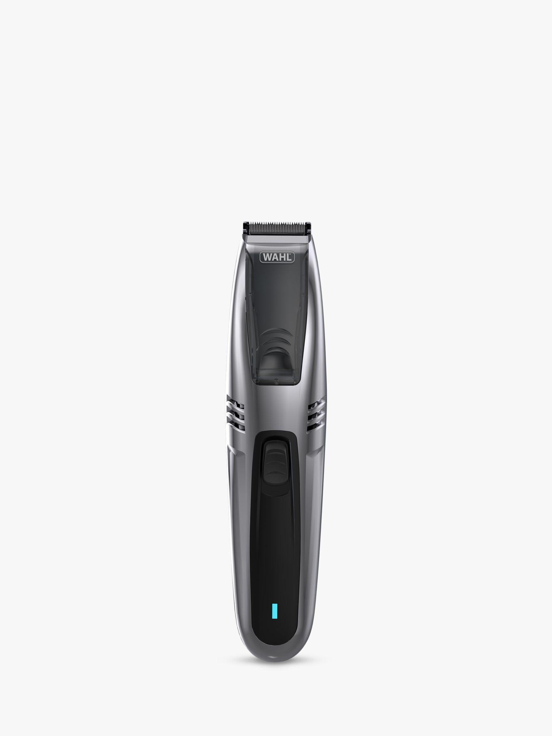 Wahl Wahl 2 in 1 Vacuum Stubble & Beard Trimmer, Black
