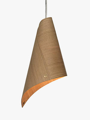 Buy Tom Raffield Keel Ceiling Light, Oak Online at johnlewis.com