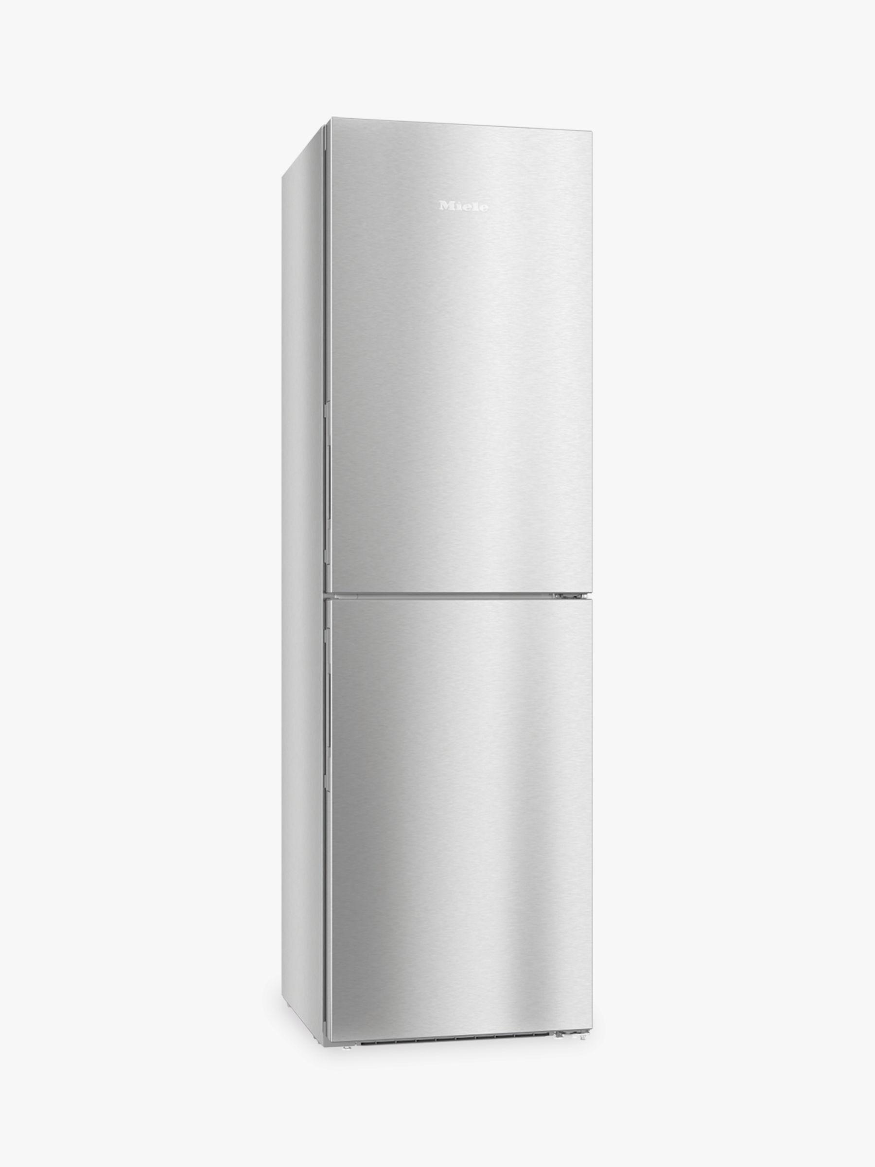 Miele Miele KFN 29243D Freestanding Fridge Freezer, 60cm Wide, A+++ Energy Rating, Stainless Steel