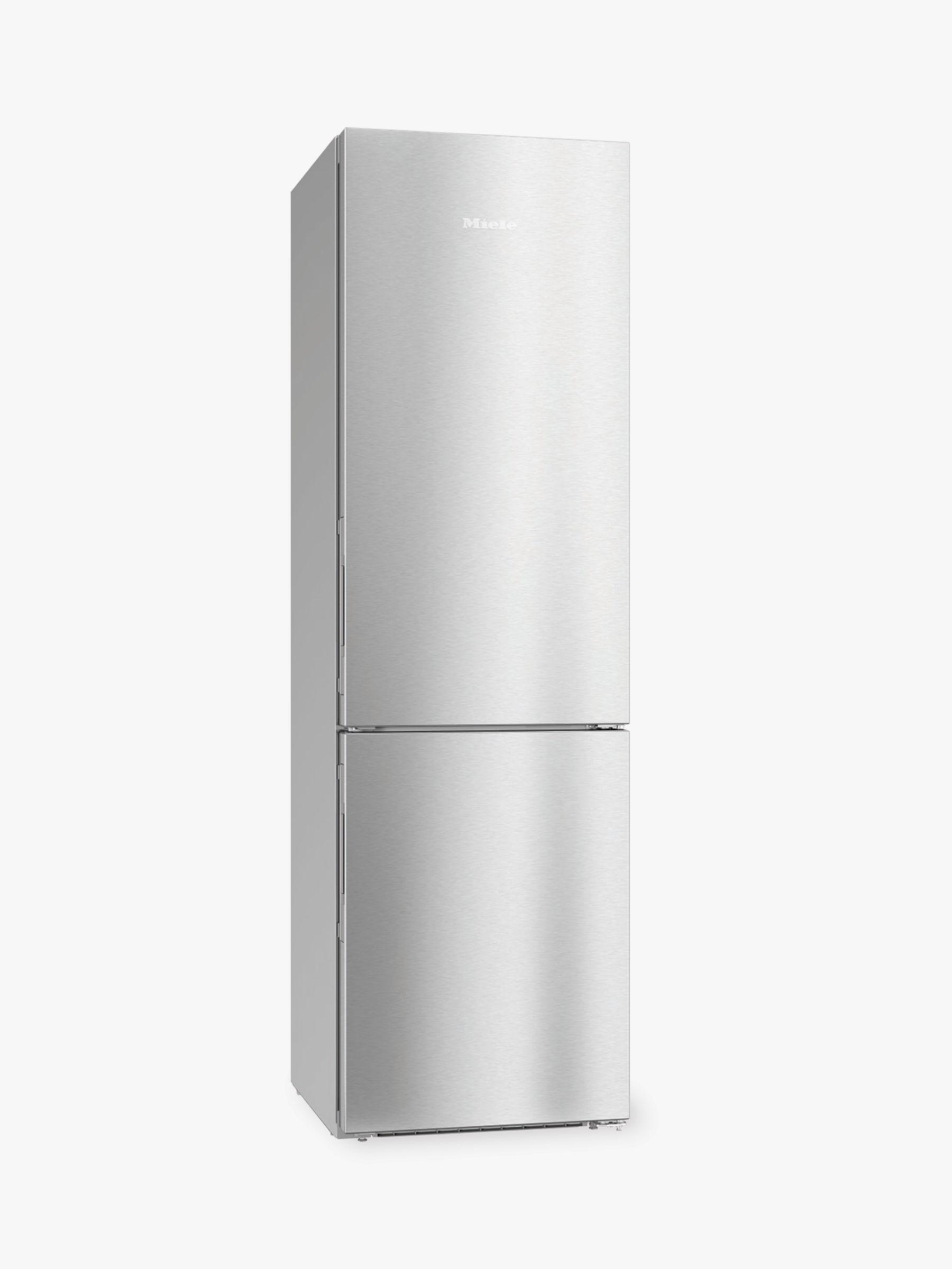 Miele Miele KFN 29233D Freestanding Fridge Freezer, 60cm Wide, A+++ Energy Rating, Stainless Steel