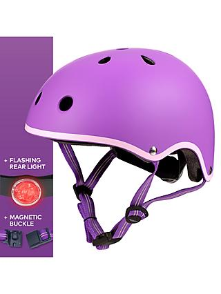 Micro Deluxe Scooter Helmet, Purple, Medium