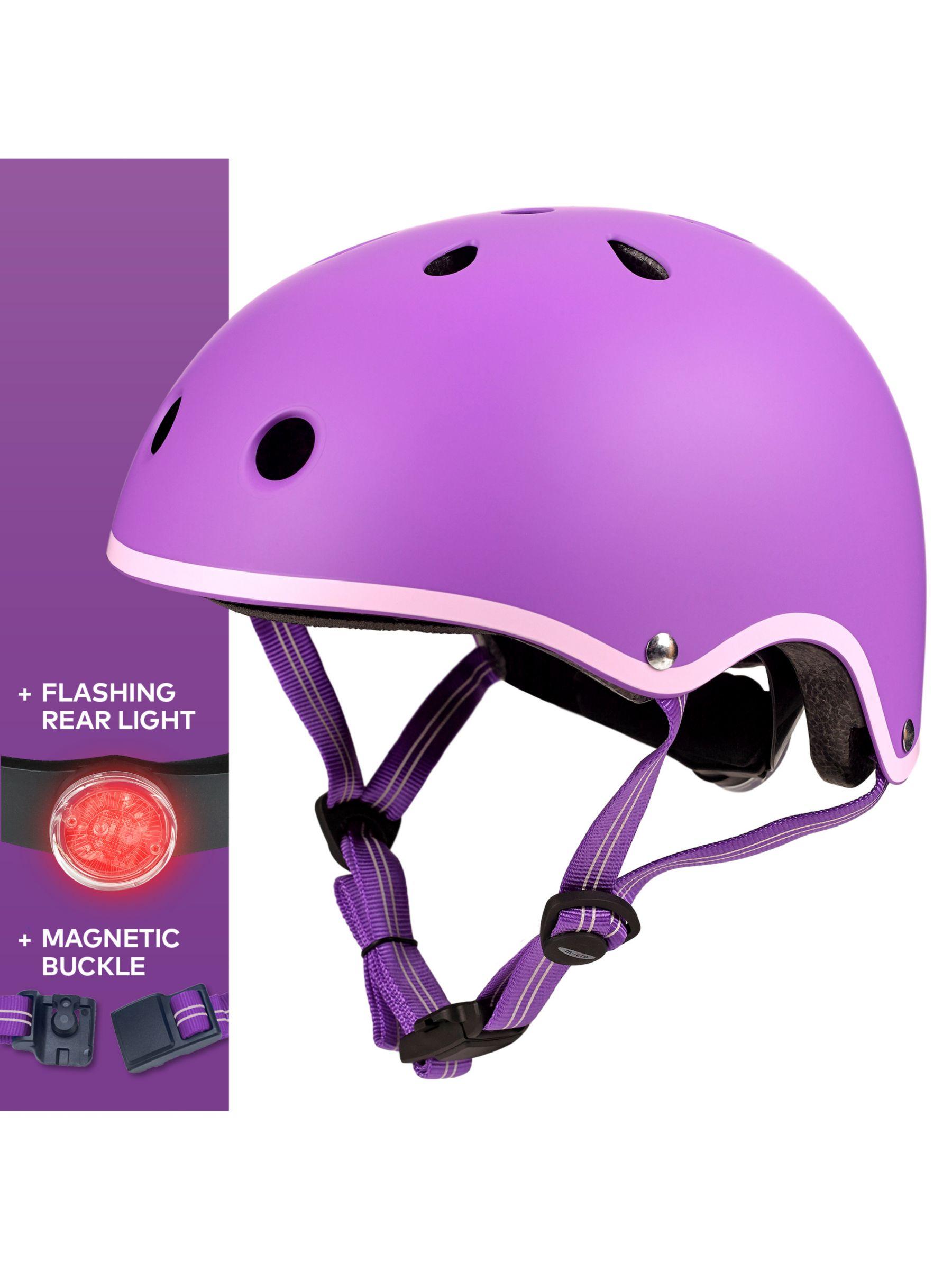 Micro Micro Deluxe Scooter Helmet, Purple, Small