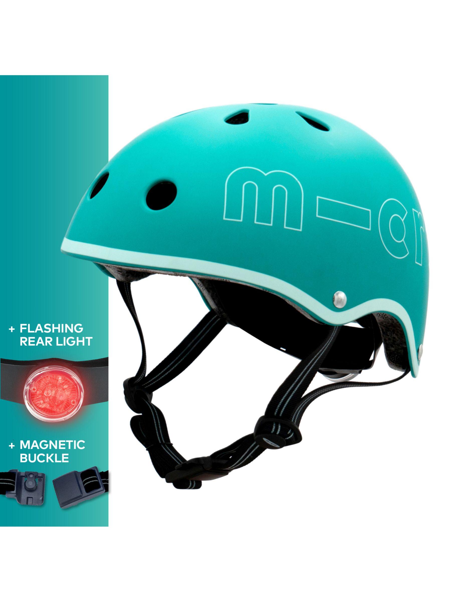 Micro Micro Deluxe Scooter Helmet, Aqua, Medium